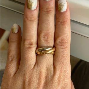 Cartier Trinity Ring with 5 diamonds